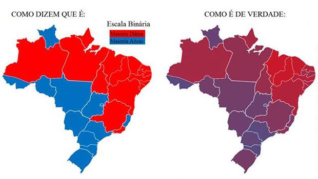 Após eleição de Dilma, redes sociais se tornam palco de ataques a nordestinos, mas números mostram que disputa foi acirrada em todo o país