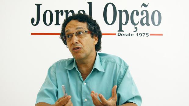 Pedro Célio ressaltou o fato de apenas um candidato ter utilizado bem os direitos de resposta | Foto: Fernando Leite/Jornal Opção/Arquivo