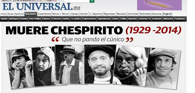 2056 - Chespirito (jornal Universal)