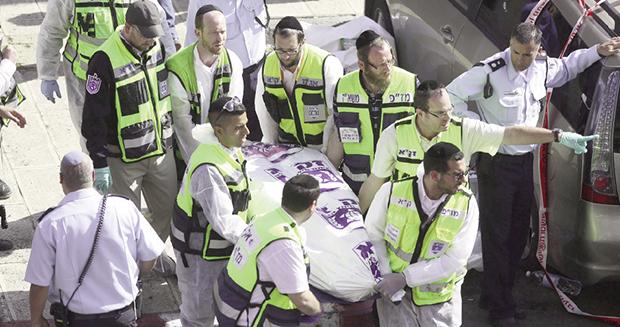 Seis pessoas foram mortas em ataque a sinagoga em Jerusalém (Foto: EFE/Abir Sultan)