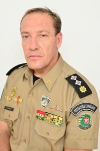 Major da PM de Goiás, Carlos Eduardo Belelli   Foto: divulgação