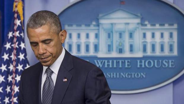 Barack Obama fala à imprensa na Casa Branca | Foto: Michael Reynolds/EPA/Agência Lusa