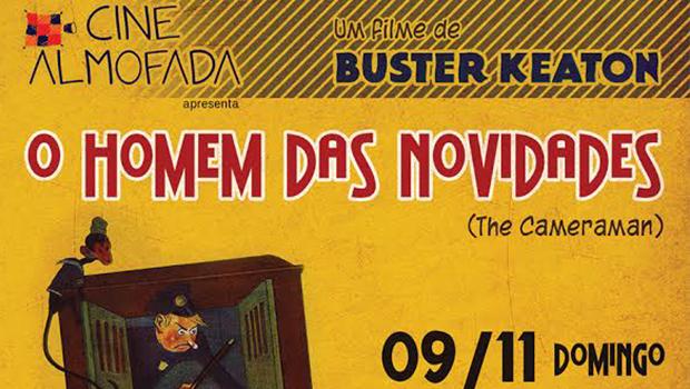"""Última edição do Cinealmofada apresenta """"O Homem das Novidades"""""""