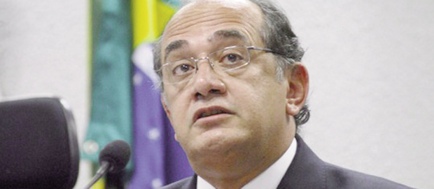 """Gilmar Mendes, ministro do Supremo Tribunal Federal: """"Quando a gente vê o caso, uma figura secundária, que se propõe a devolver 100 milhões de dólares, já estamos em outra galáxia"""" Foto: Agência Brasil"""