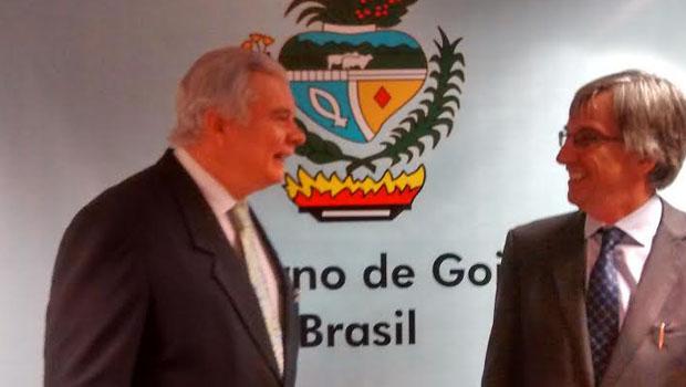 """Novo embaixador alemão visita Goiás e elogia logística do Estado: """"estou impressionado"""""""