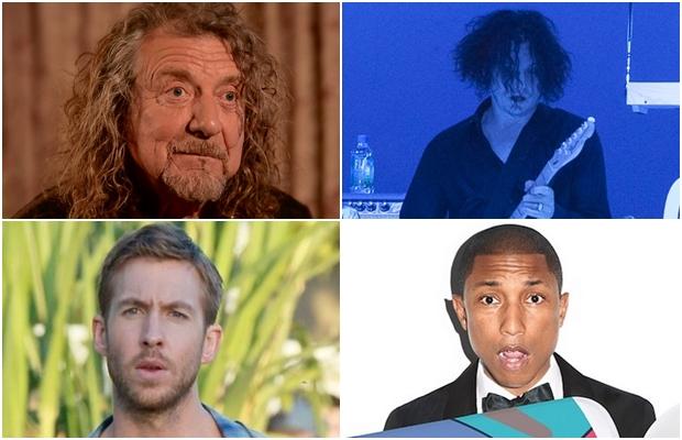 Pharell, Calvin Harris, Robert Plant e Jack White são destaques do Lollapalooza 2015