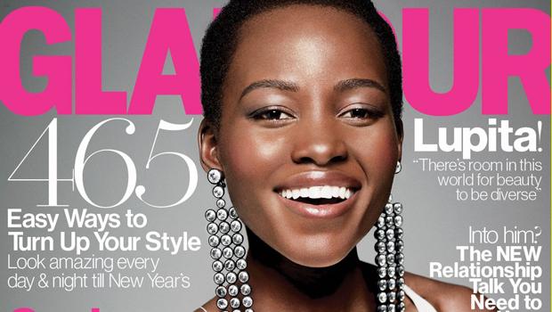 Lupita Nyong'o é eleita a mulher do ano pela revista Glamour