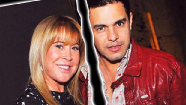 Crise de Zezé Di Camargo e Zilu é strip-tease em praça pública