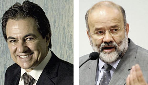 Mendonça Neto e o tesoureiro do PT, Vaccari Neto: elos na corrente de corrupção montada na Petrobrás?