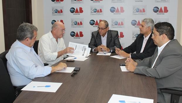 Equipe de transição de governo pede apoio à OAB-TO