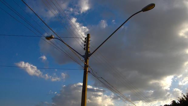 Poste de iluminação