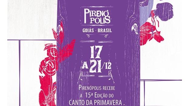 Canto da Primavera 2014 começa nesta quarta em Pirenópolis