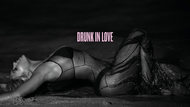 "Capa do single de ""Drunk in Love"""