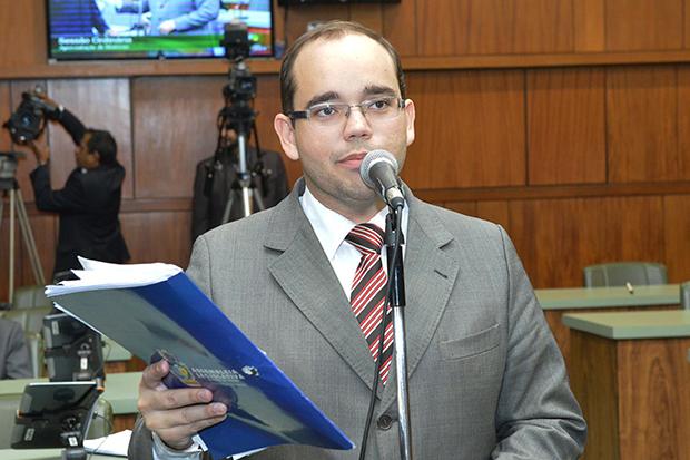 Líder do governo, Fábio Sousa (PSDB) / Foto: Marcos Kennedy | Alego