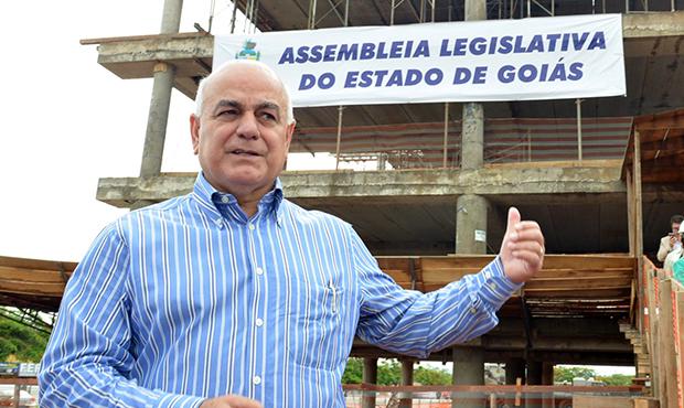 Helio de Sousa concorre à reeleição na Assembleia | Foto: Carlos Costa/Assembleia Legislativa
