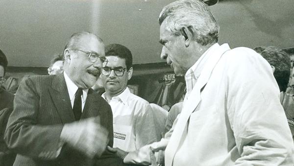 Iris foi ministro duas vezes: uma no governo Sarney (Agricultura); outra no governo FHC (Justiça)    Foto: arquivo pessoal / Jornal Opção