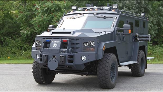Bope de Goiás será equipado com veículo blindado usado pela SWAT americana