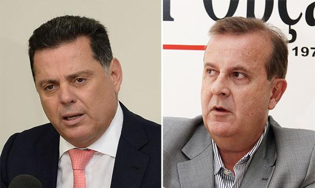 """Governador e prefeito se encontram com """"espíritos desarmados"""""""
