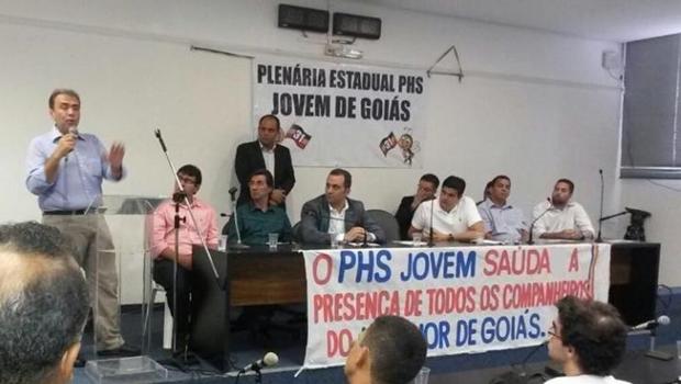 """Em reunião, PHS declara apoio e lança """"campanha"""" Marconi Perillo presidente 2018"""