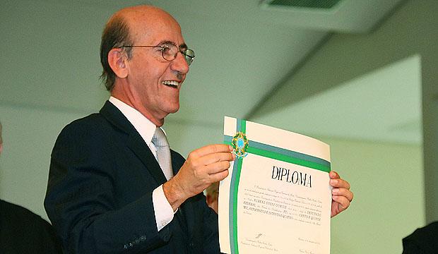 Rubens Otoni fez críticas aos partidos de oposição ao governo federal durante diplomação | Foto: Fernando Leite/Jornal Opção Online