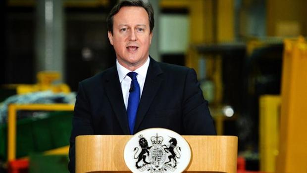 Londres/ Inglaterra - Primeiro-ministro britânico, David Cameron, em anúncio de medidas contra a imigração da União Europei / Foto: Arron Hoare/ Prime Minister's Office