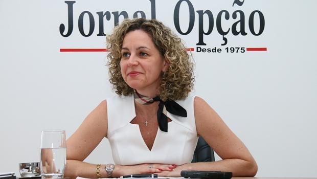 Ana Carla Abrão diz confiar no trabalho de seu amigo Joaquim Levy, o novo ministro da Fazenda | Foto: Fernando Leite/Jornal Opção