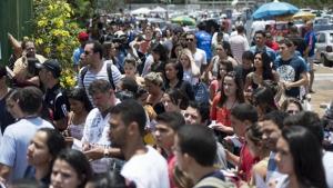 Estudantes em Brasília no 1º dia do Enem 2014 / Foto: Tomaz Silva/ Agência Brasil (08/11/2014)