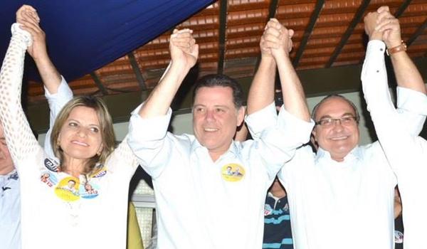Antes adversários, Jânio e a deputada Flávia Morais trabalharam para reeleger o governador Marconi Perillo (PSDB)