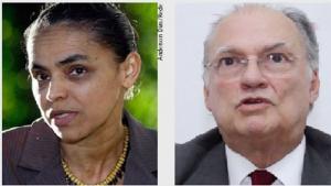 Marina Silva e Roberto Freire: um pacto contra o liberalismo exacerbado da dupla Dilma Rousseff e Joaquim Levy / Fernando Leite/Jornal Opção