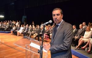 """""""Marconi é um exemplo para o Estado de Goiás e para o Brasil"""", discursou o novo supersecretário José Eliton"""