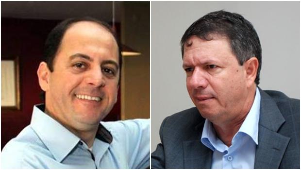 Gugu Nader e Zé Gomes: ex-aliados trocam farpas | Foto: reproduão / Facebook / Renan Accioly / Jornal Opção
