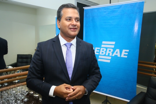 Diretor-superintendente do Sebrae, Igor Montenegro / Foto: Fernando Leite/ Jornal Opção