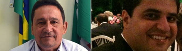 """Judson Lourenço (esquerda) quer disputar a reeleição em Santa Helena; João Rodrigues é o herdeiro do """"alcidismo"""" em Santa Helena"""
