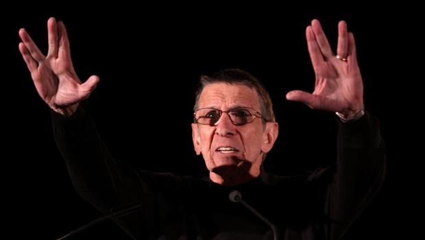 Leonard Nimoy, o Spock de Star Trek /  Foto: Gage Skidmore/ Wikimedia Commons/ Fotos Públicas