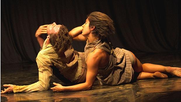 """Com uma leitura para vestibular nasceu, em 2002, a vontade de vivenciar o universo de Guimarães Rosa na dança; """"O Crivo"""", de João Paulo Gross, estará no palco do Teatro Sesc Centro, no próximo sábado / Foto: Lu Barcelos"""