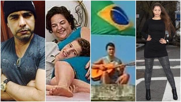 Zezé di Camargo, Vilma Martins, Leonardo Pareja e Nana Gouveia: muita polêmica | Fotos: reprodução / Instagram / Época