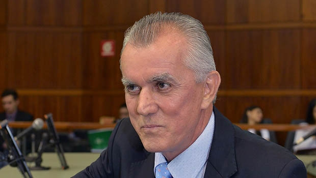 """Victor Priori pode """"sustentar"""" a estrutura da oposição ao PMDB  Foto: Denise Xavier/Alego"""