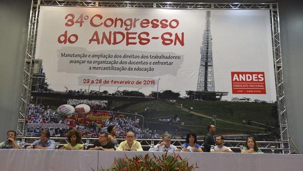 34º Congresso do Andes-SN reúne professores do ensino superior de todo o país | Foto: Foto: Elza Fiuza/Agência Brasil