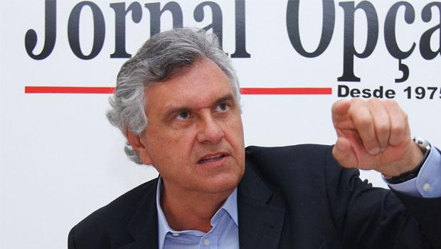 Fusão entre PTB e DEM pode levar o senador Ronaldo Caiado ao comando do PMDB de Goiás