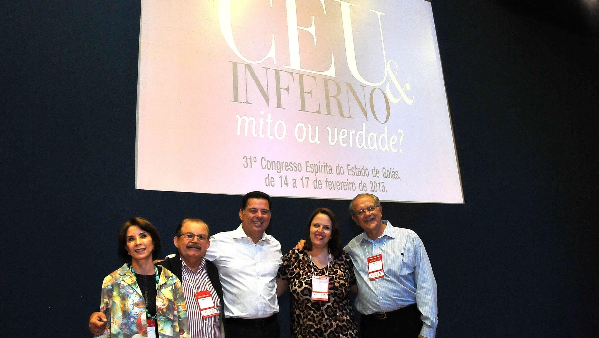 Marconi Perillo participa de congresso espírita