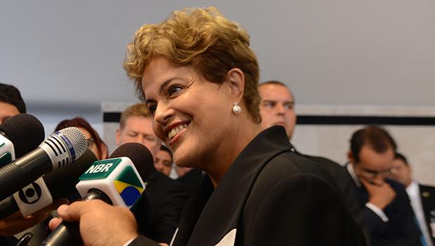Dilma faz café da manhã e mostra no cardápioos ajustes fiscais  l  Foto: Elza Fiúza/Agência Brasil