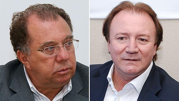 Júnior Friboi e Frederico Jayme: o ex-prefeito de Goiânia Iris Rezende decidiu que não vai conviver com os 2 políticos no PMDB