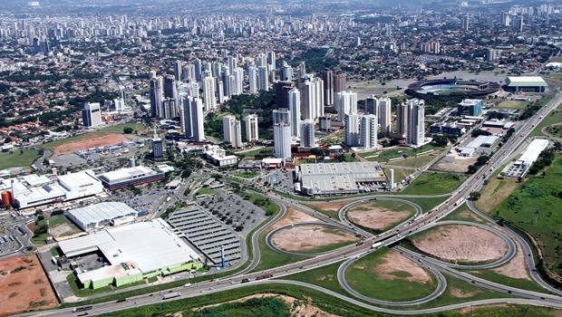 Vista panorâmica de Goiânia: IBGE avalia renda do Estado melhor apenas que a do Norte e Nordeste | Foto: Fernando Leite / Jornal Opção