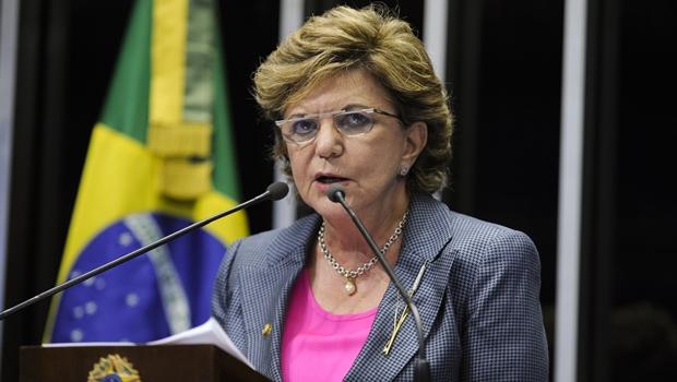 Senadora Lúcia Vânia anuncia saída do PSDB e pode ir para o PPS