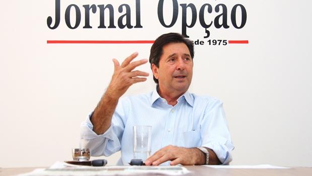 Prefeito de Aparecida de Goiânia e vice-presidente da FNP, Maguito Vilela (PMDB), será o anfitrião do evento   Foto: Fernando Leite / Jornal Opção