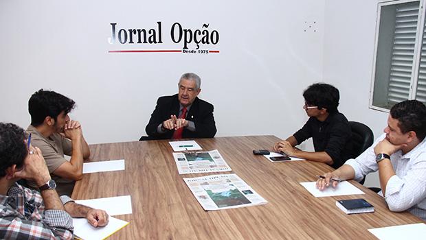 """José Taveira em entrevista ao Jornal Opção: """"Saneago ficará atenta aos mananciais que podem ser reservatórios em breve"""""""