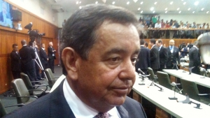 Nédio Leite foi eleito primeiro vice-presidente   Foto:   Marcello Dantas/Jornal Opção Online