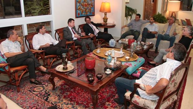 Reunião contou com deputados e lideranças  peemedebistas | Foto: divulgação