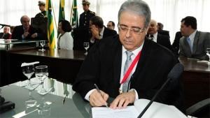 Posse do presidente do TJGO, Leobino Valente /Foto: TJGO