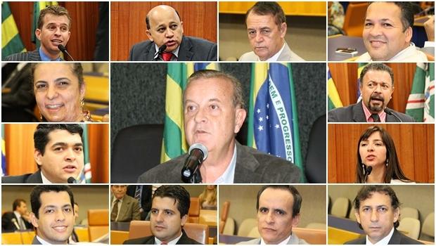 Vereadores contra decisão do prefeito Paulo Garcia | Fotos: Câmara Municipal de Goiânia